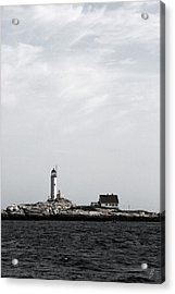 Isles Of Shoals Lighthouse Acrylic Print by Brett Pelletier