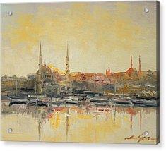 Istanbul- Hagia Sophia Acrylic Print by Luke Karcz