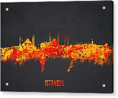 Istanbul Turkey Acrylic Print by Aged Pixel