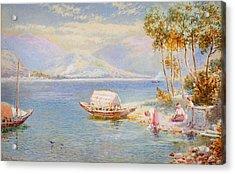 Italian Lake Acrylic Print by Celestial Images