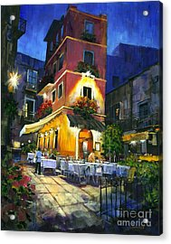 Italian Nights Acrylic Print by Michael Swanson