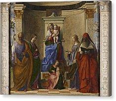 Italy, Veneto, Venice, San Zaccaria Acrylic Print by Everett