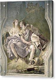 Italy. Vicenza. Villa Valmarana Acrylic Print by Everett