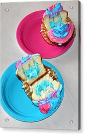 Its A Boy Acrylic Print by French Toast