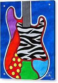 It's Electric Acrylic By Diana Sainz Acrylic Print by Diana Sainz