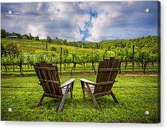 It's Happy Hour Acrylic Print by Debra and Dave Vanderlaan