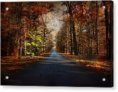 It's Not Easy Being Green Acrylic Print by Jai Johnson