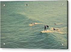 It's The Ride Acrylic Print by Laurie Search