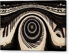 Ivory Acrylic Print by Jack Zulli