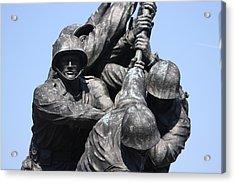 Iwo Jima Memorial - 12124 Acrylic Print by DC Photographer