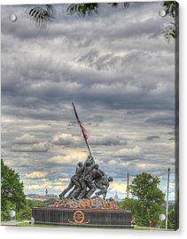 Iwo Jima Memorial - Washington Dc - 01131 Acrylic Print by DC Photographer
