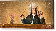Jack And A Beer Bach... Acrylic Print by Will Bullas