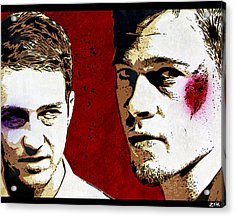Jack And Tyler Acrylic Print by Bobby Zeik