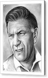 Jack Klugman Acrylic Print by Greg Joens