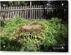 Jack London Grave Site 5d21984 Acrylic Print by Wingsdomain Art and Photography