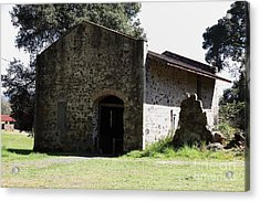 Jack London Ranch Distillery 5d22173 Acrylic Print by Wingsdomain Art and Photography