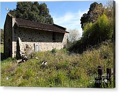 Jack London Ranch Distillery 5d22182 Acrylic Print by Wingsdomain Art and Photography