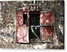 Jack London Sherry Barn 5d22084 Acrylic Print by Wingsdomain Art and Photography