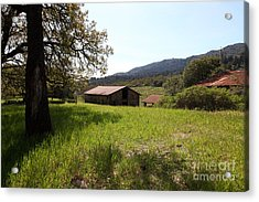 Jack London Stallion Barn 5d22056 Acrylic Print by Wingsdomain Art and Photography