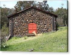 Jack London Stallion Barn 5d22101 Acrylic Print by Wingsdomain Art and Photography