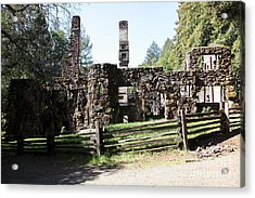 Jack London Wolf House 5d22040 Acrylic Print by Wingsdomain Art and Photography