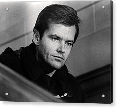 Jack Nicholson In Five Easy Pieces  Acrylic Print by Silver Screen