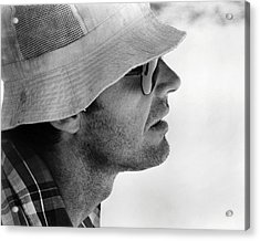 Jack Nicholson In Professione: Reporter  Acrylic Print by Silver Screen