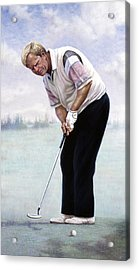 Jack Nicklaus Acrylic Print by Gregory Perillo