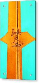 Jacks Acrylic Print by Ron Regalado
