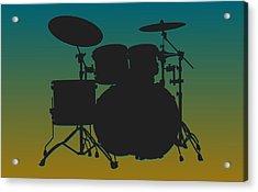 Jacksonville Jaguars Drum Set Acrylic Print by Joe Hamilton
