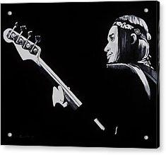 Jaco Acrylic Print by Brian Broadway