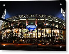 Jacobs Field Acrylic Print by Frozen in Time Fine Art Photography