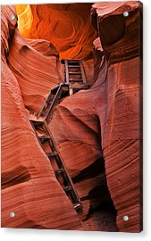 Jacob's Ladder Acrylic Print by Mike  Dawson
