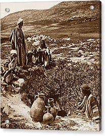 Jacob's Well Shechem Israel Acrylic Print by The Keasbury-Gordon Photograph Archive