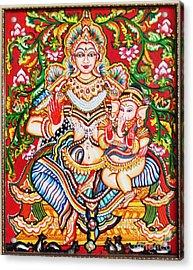 Jaganmatha Acrylic Print by Jayashree
