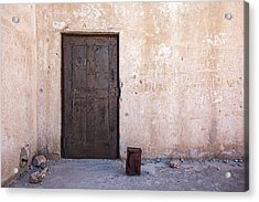 Jail House Rocks Acrylic Print by Peter Tellone