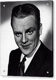 James Cagney Acrylic Print by Doc Braham