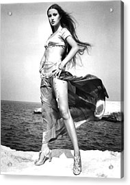 Jane Seymour In Sinbad And The Eye Of The Tiger  Acrylic Print by Silver Screen