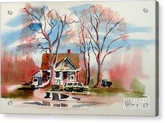 January Afternoon Acrylic Print by Kip DeVore