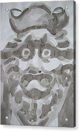 Japanese Stare Acrylic Print by Alan Hogan
