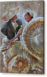 Jarabe Tapatio Dance Acrylic Print by Jose Espinoza