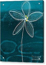 Jasmine Flower Acrylic Print by Linda Woods