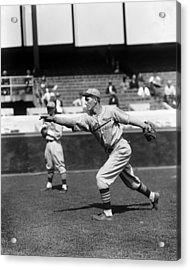 Jay H. Dizzy Dean Acrylic Print by Retro Images Archive