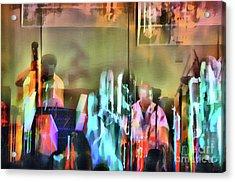 Jazz Band Acrylic Print by Jeff Breiman