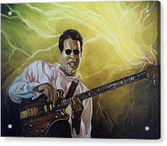 Jazz Acrylic Print by Emery Franklin