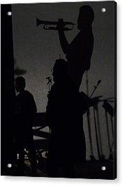 Jazz Shadows Acrylic Print by Bill Mock