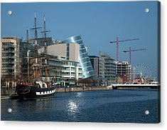Jeanie Johnston Reconstructed Famine Acrylic Print by Panoramic Images
