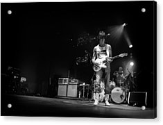 Jeff Beck On Guitar 5 Acrylic Print by The  Vault - Jennifer Rondinelli Reilly