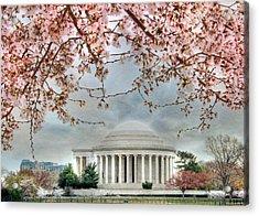 Jefferson Blossoms Acrylic Print by Lori Deiter