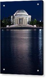 Jefferson Memorial Washington D C Acrylic Print by Steve Gadomski